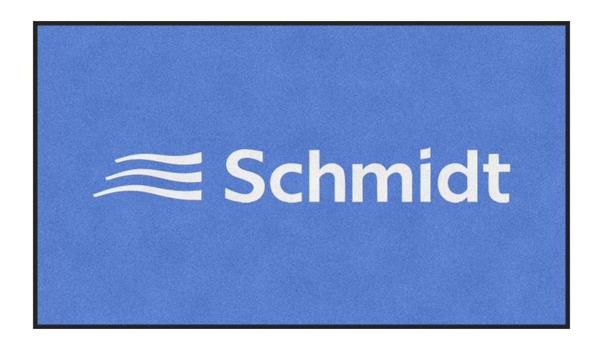 Logo-Schmutzfangmatte, Sauberlaufmatte